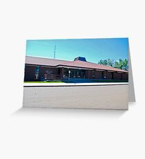 FALLON COUNTY COURT HOUSE Greeting Card