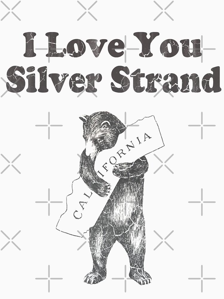 I Love You Silver Strand California by frittata
