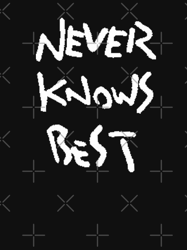 NEVER KNOWS BEST - ALONE by goblinslayer