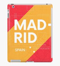 Madrid travel illustration iPad Case/Skin