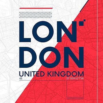 London travel illustration by maximgertsen