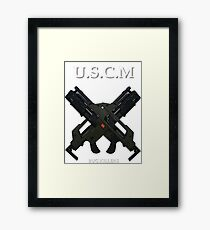 UNITED STATES COLONIAL MARINES Framed Print