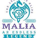 Legend T-shirt - Legend Shirt - Legend Tee - MALIA An Endless Legend by wantneedlove