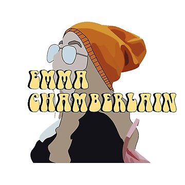 EMMA CHAMBERLAIN MERCH - T SHIRT - STICKER - POSTER & MORE by traiomar