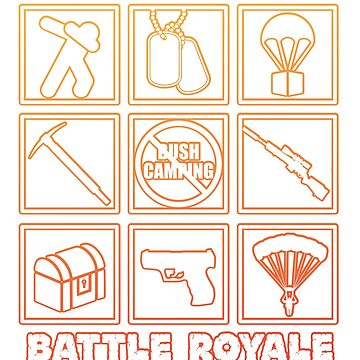 Battle Royal Gaming Ringer T-shirt by HumbaHarry