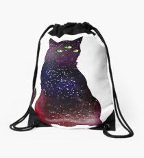 Galaxycat Drawstring Bag