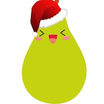 Christmas, pear gift Christmas present by NadjaDesigns