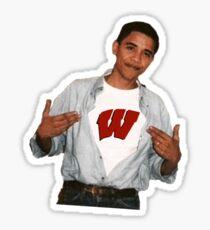 Obama Wisconsin Sticker