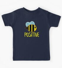 Be Positive, Bee Positive Kids Tee