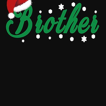 Brother Christmas gift Christmas present by NadjaDesigns