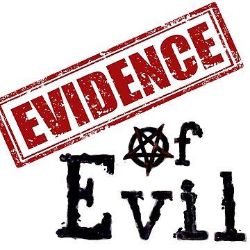 Evidence of Evil Logo Merchandise by evidenceofevil