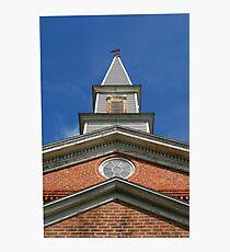 Mann's Chapel Steeple Photographic Print