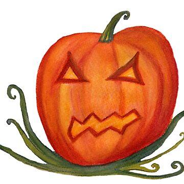 Halloween Pumpkin  by Manitarka