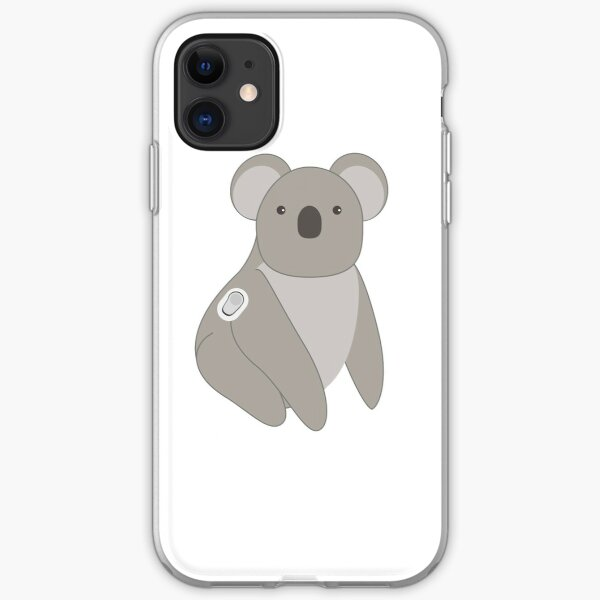 Quincy el Koala Funda blanda para iPhone