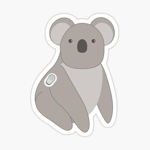 Quincy the Koala  Sticker