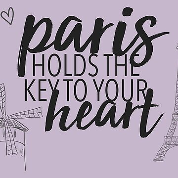 paris holds the key by lunerys
