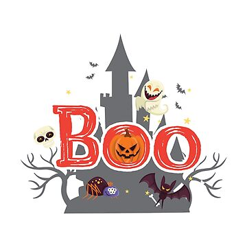 Boo Halloween For Kids - Funny Halloween Costumes  by miracletee
