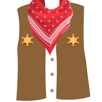 Cowboy Halloween Costume For Boys And Men by miracletee