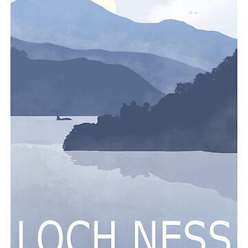Loch Ness - Nessie Spotted by NeonArcade87