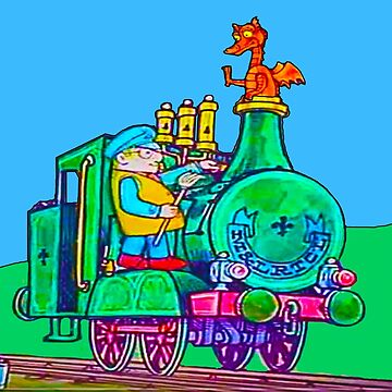 Ivor The Engine and Idris the Dragon by markstones