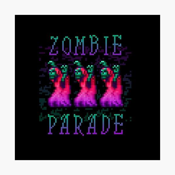 Zombie Parade Photographic Print