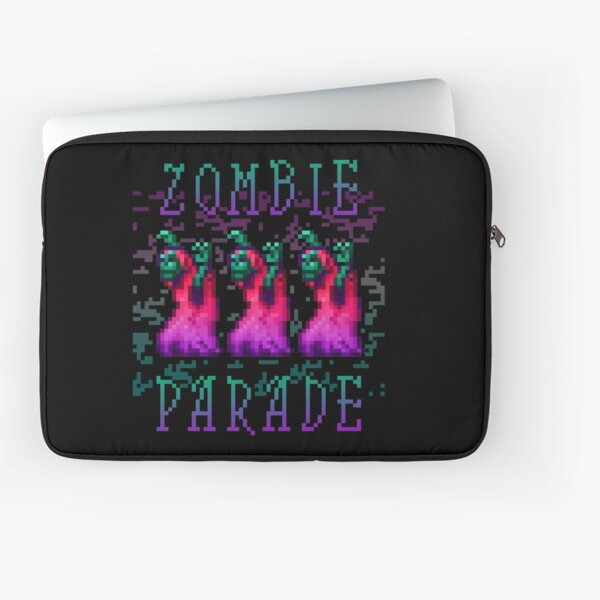 Zombie Parade Laptop Sleeve