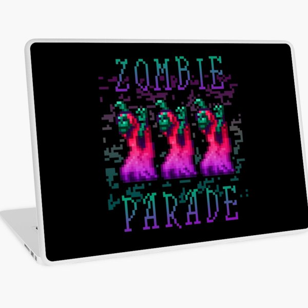 Zombie Parade Laptop Skin