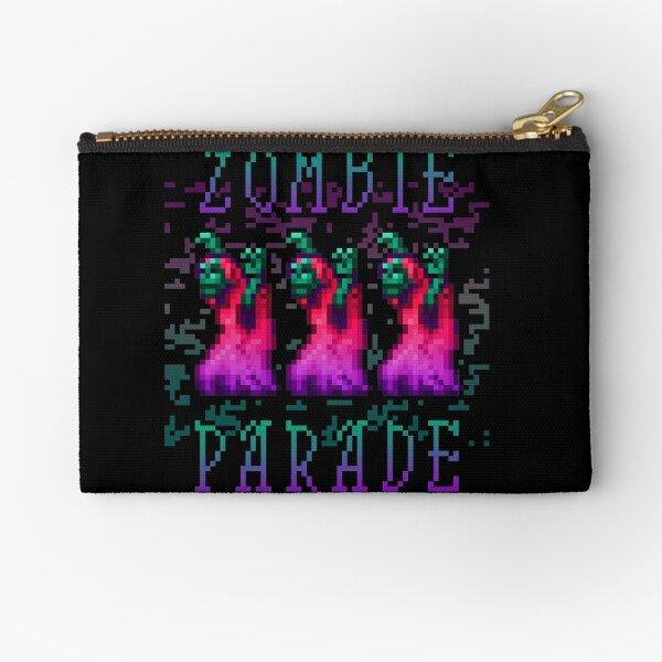 Zombie Parade Zipper Pouch
