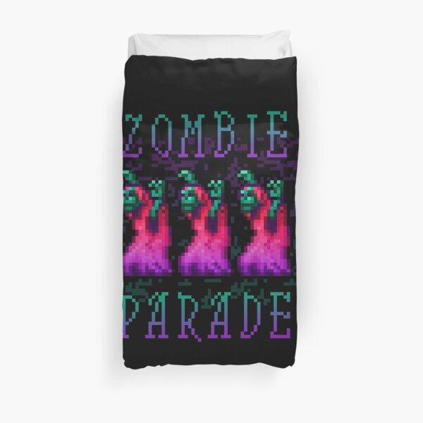 Zombie Parade Duvet Cover