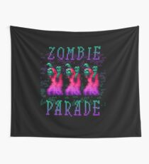 Zombie Parade Wall Tapestry
