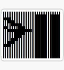 911 Barcode Sticker