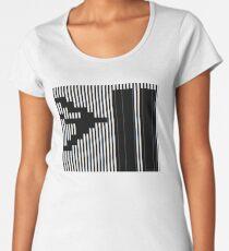911 Barcode Women's Premium T-Shirt