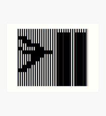 911 Barcode Art Print