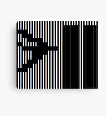 911 Barcode Canvas Print