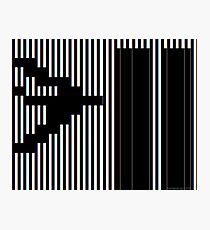 911 Barcode Photographic Print
