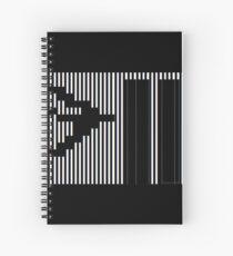 911 Barcode Spiral Notebook