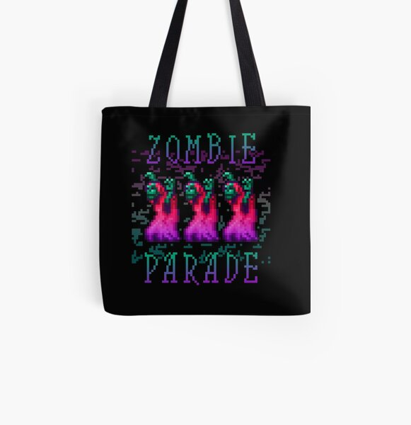 Zombie Parade All Over Print Tote Bag