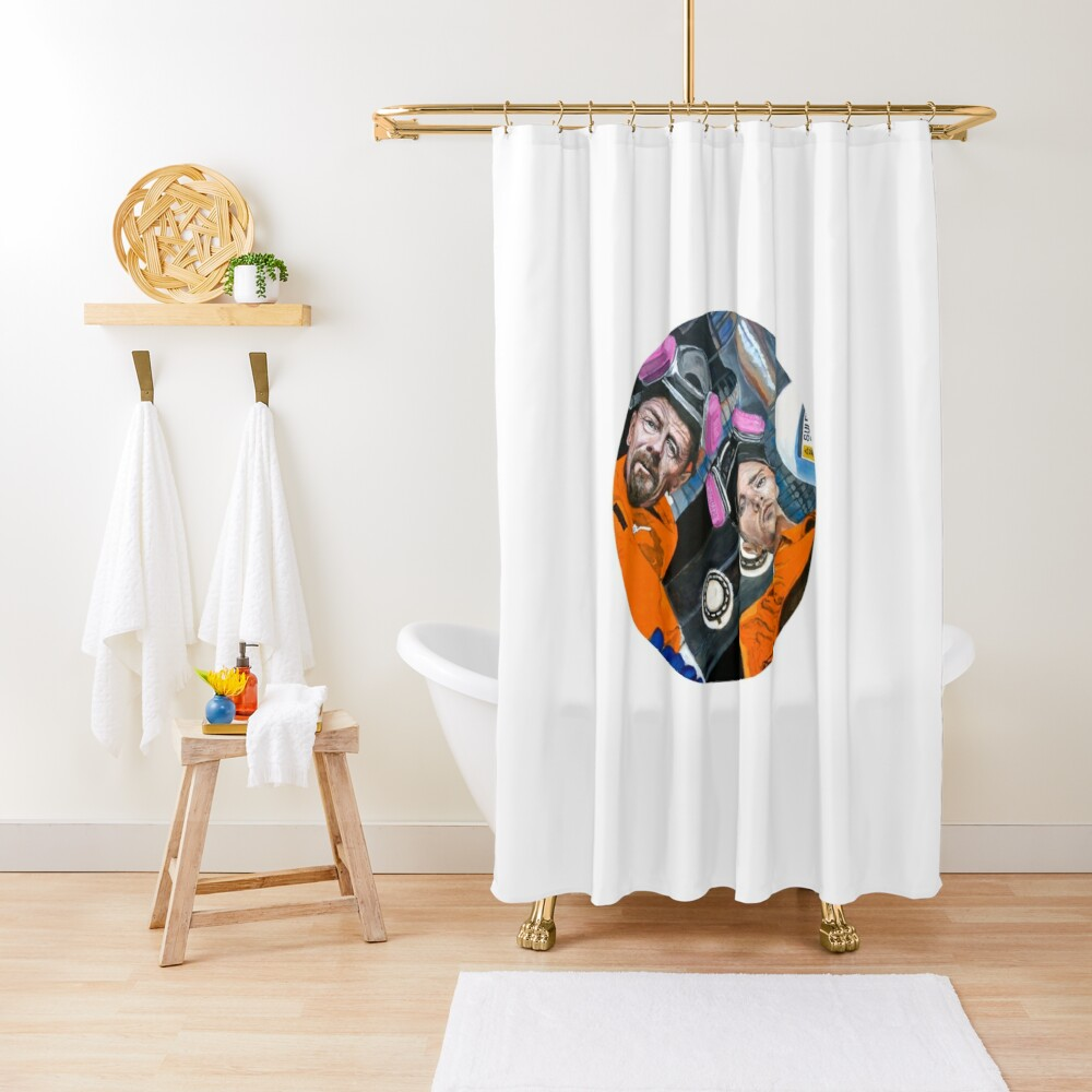 For Every Problem There Is a Solution Shower Curtain