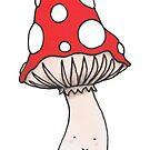 Happy Toadstool by TakoraTakora