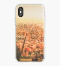 New York City - Skyline at Sunset iPhone Case