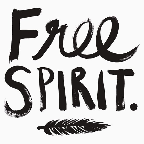 TShirtGifter presents: Free Spirit | Women's T-Shirt