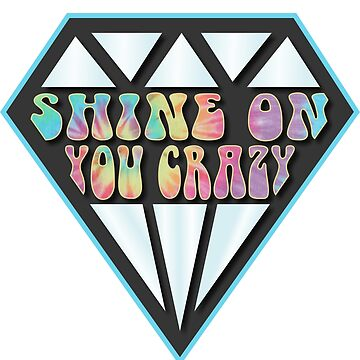 Shine On You Crazy Diamond - Pink Floyd by BerksGraphics