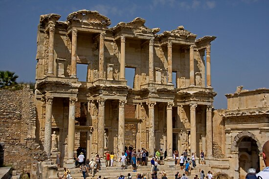 Library of Celsus by Tom Gomez
