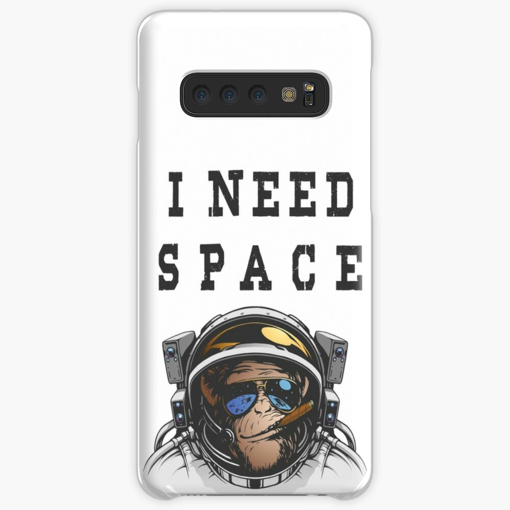 I NEED SPACE YOU MONKEY Case & Skin for Samsung Galaxy