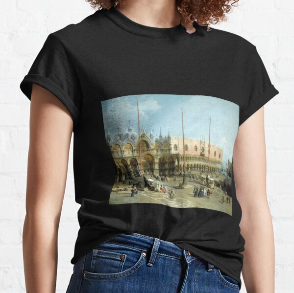 Giovanni Antonio Canal Piazza San Marco Classic T-Shirt