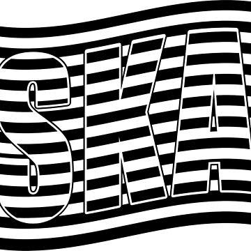 SKA music flag by divotomezove