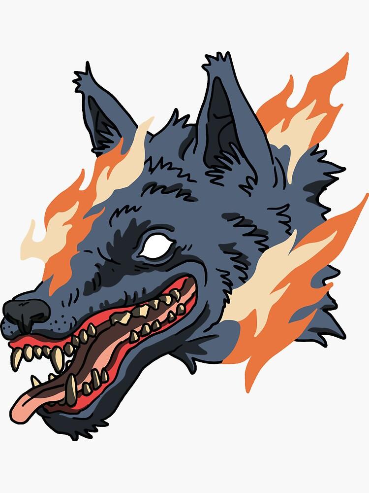 Fire wolf de Tirmes