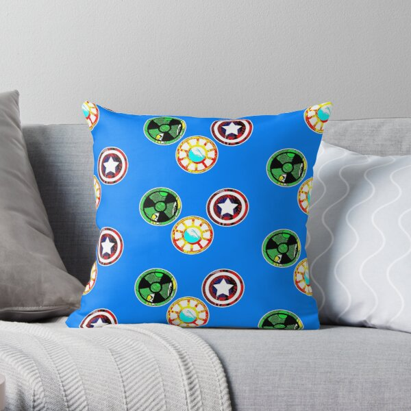 The First Trio Throw Pillow