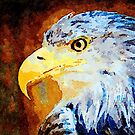 Proud Eagle by Leon Woods