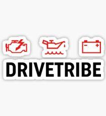 DriveTribe Warning Lights Sticker